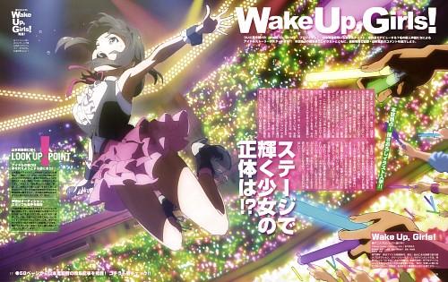 Tatsunoko Production, Ordet, Wake Up Girls!, Mayu Shimada, Megami Magazine