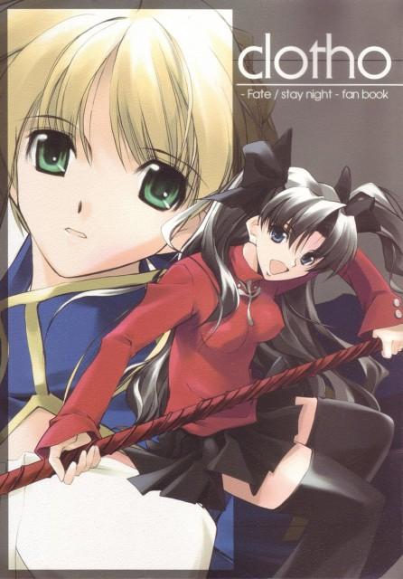 Nagare Hyougo, TYPE-MOON, Fate/stay night, Rin Tohsaka, Saber