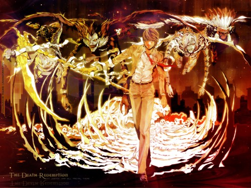 Takeshi Obata, Madhouse, Death Note, Rem, Light Yagami Wallpaper