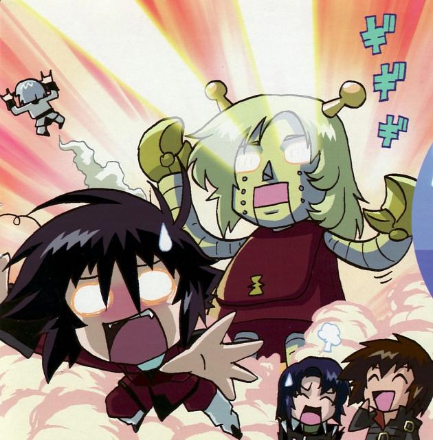 As' Maria, Sunrise (Studio), Mobile Suit Gundam SEED Destiny, Yzak Joule, Athrun Zala