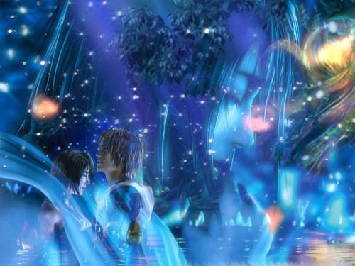 Square Enix, Final Fantasy X, Yuna, Tidus Wallpaper