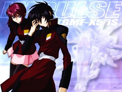 Sunrise (Studio), Mobile Suit Gundam SEED Destiny, Lunamaria Hawke, Shinn Asuka Wallpaper
