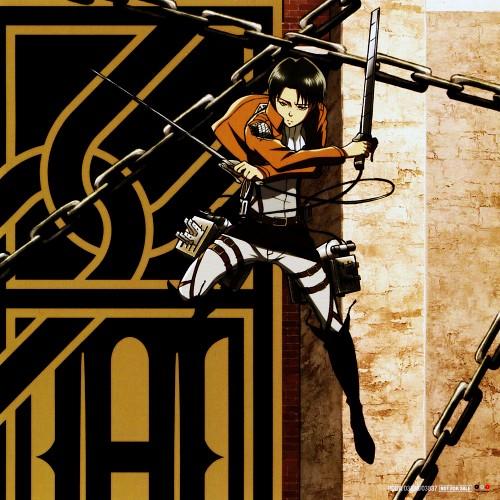 Hajime Isayama, Production I.G, Shingeki no Kyojin, Levi Ackerman, Album Cover