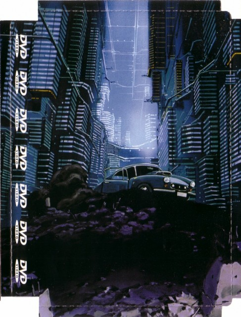 Armitage III, DVD Cover