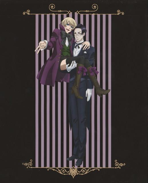 A-1 Pictures, Kuroshitsuji, Alois Trancy, Claude Faustus, DVD Cover