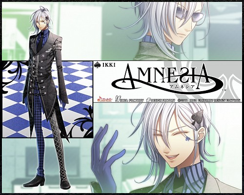 Mai Hanamura, Idea Factory, AMNESIA, Ikki (AMNESIA), Official Wallpaper