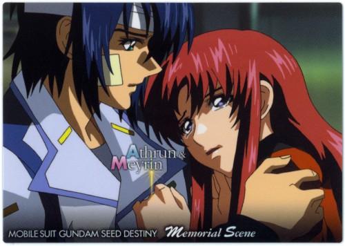 Sunrise (Studio), Mobile Suit Gundam SEED Destiny, Meyrin Hawke, Athrun Zala