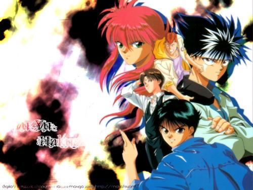Studio Pierrot, Yuu Yuu Hakusho, Kazuma Kuwabara, Yusuke Urameshi, Koenma Wallpaper