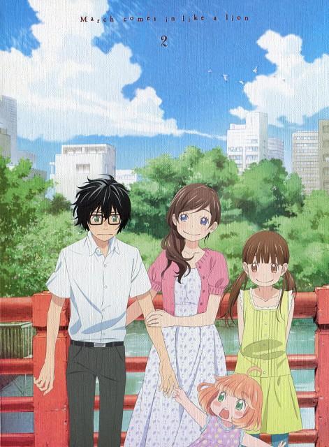 Chika Umino, Shaft (Studio), Sangatsu no Lion, Rei Kiriyama, Momo Kawamoto