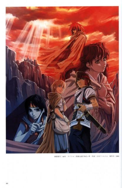 Shunsuke Taue, Falcom, Garasu no Kantai, Falcom History Legend of Illustrations, The Legend of Heroes: A Tear of Vermillion