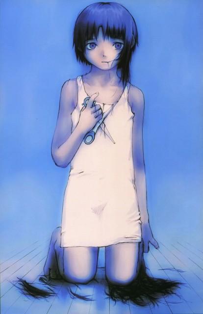 Yoshitoshi Abe, Serial Experiments Lain, Lain Illustrations, Lain Iwakura, DVD Cover