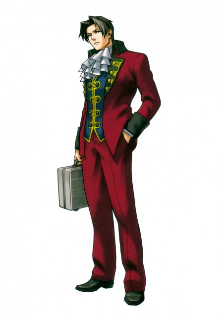 Capcom, Ace Attorney, Miles Edgeworth