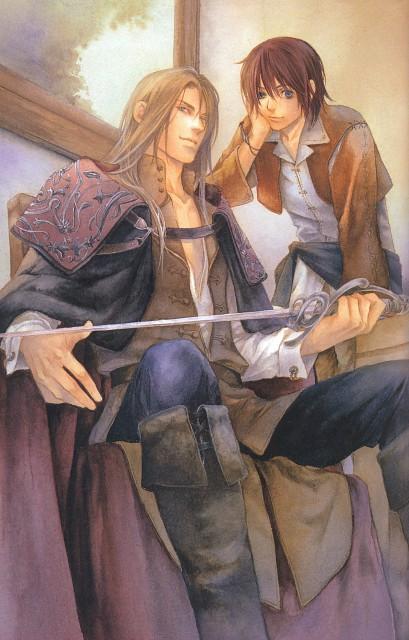 Kaoru Yukifuna, Flesh and Blood, Japanese Comickers 2, Geoffrey Rockford, Kaito Tougou