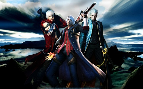 Madhouse, Capcom, Devil May Cry, Vergil, Dante Wallpaper