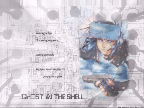 Ghost in the Shell Wallpaper