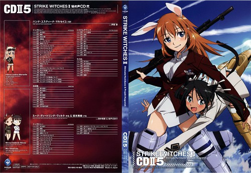Anime International Company, Gonzo, Strike Witches, Charlotte E. Yeager, Francesca Lucchini