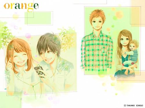 Ichigo Takano, Orange (Series), Kakeru Naruse, Naho Takamiya, Hiroto Suwa