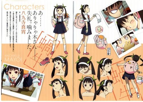 Akio Watanabe, Shaft (Studio), Bakemonogatari, Mayoi Hachikuji, Character Sheet