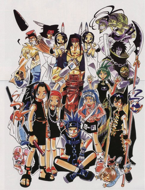 Hiroyuki Takei, Xebec, Shaman King, Ren Tao, Manta Oyamada