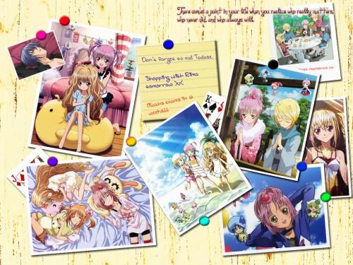 Peach-Pit, Shugo Chara, Ikuto Tsukiyomi, Rima Mashiro, Pepe Wallpaper
