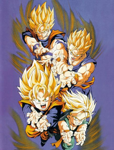 Akira Toriyama, Toei Animation, Dragon Ball, Super Saiyan Trunks, Super Saiyan Gohan