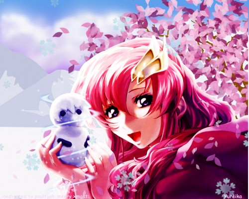 RGB, Mobile Suit Gundam SEED Destiny, Lacus Clyne Wallpaper