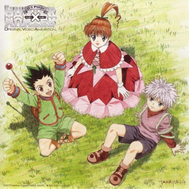 Yoshihiro Togashi, Nippon Animation, Hunter x Hunter, Killua Zaoldyeck, Gon Freecss