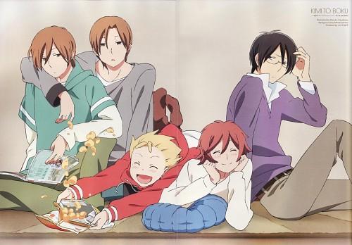 Kiichi Hotta, J.C. Staff, Kimi to Boku, Yuuta Asaba, Yuuki Asaba