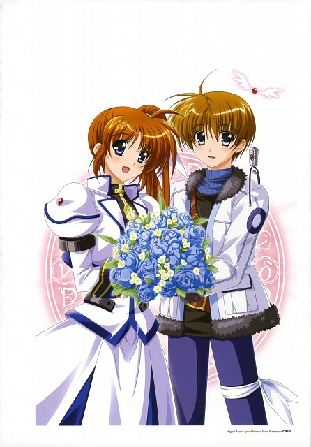 Yukari Higa, Mahou Senki Lyrical Nanoha Force, Magical Record Lyrical Nanoha Force Illustrations, Nanoha Takamachi, Tohma Avenir