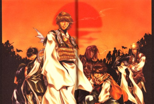 Kazuya Minekura, Studio Pierrot, Saiyuki, Salty Dog IV, Gatti Nenehawk