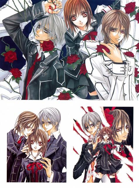 Matsuri Hino, Vampire Knight, Hino Matsuri Illustrations: Vampire Knight, Yuuki Cross, Zero Kiryuu