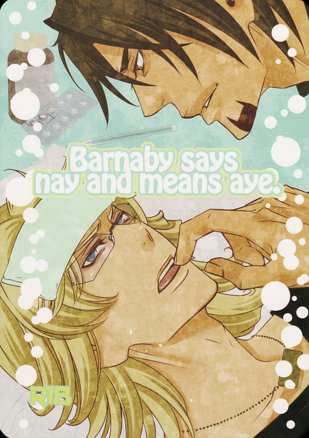 Tiger and Bunny, Barnaby Brooks Jr., Kotetsu T. Kaburagi, Doujinshi Cover, Doujinshi