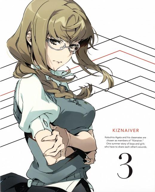 Mai Yoneyama, Trigger (Studio), Kiznaiver, Maki Honoka, DVD Cover