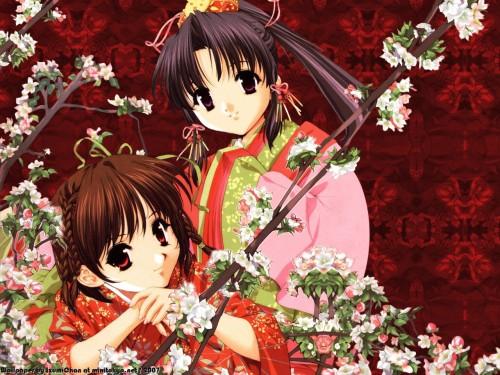 Naoto Tenhiro, Sister Princess, Haruka (Sister Princess), Rin Rin (Sister Princess) Wallpaper