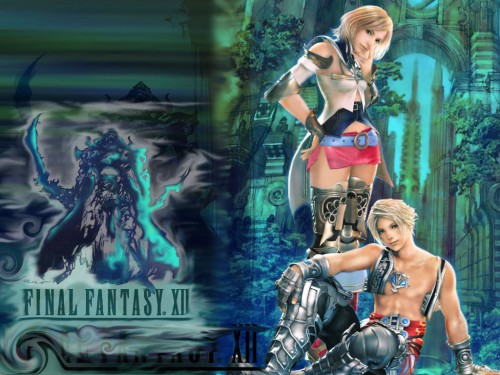Square Enix, Final Fantasy XII, Vaan, Ashe Wallpaper