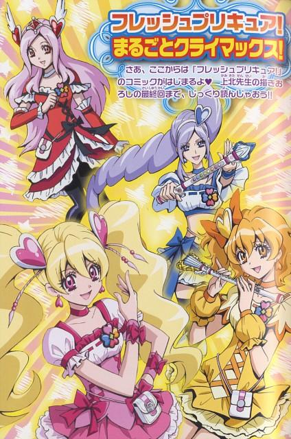 Futago Kamikita, Fresh Precure!, Cure Passion, Cure Berry, Cure Pine