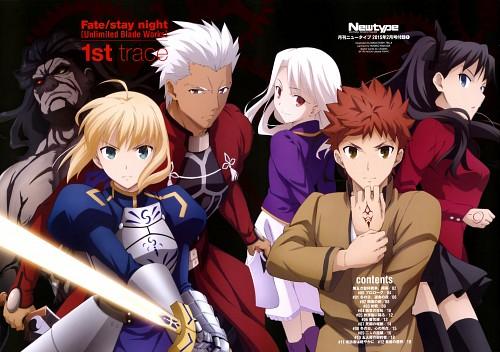 Masatoshi Tsuji, Ufotable, Fate/stay night, Saber, Illyasviel von Einzbern
