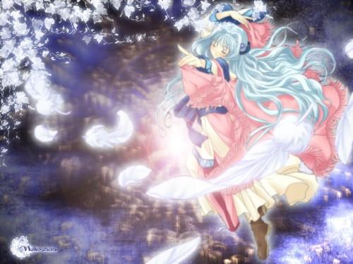 Chisato Naruse, Tenbatsu Angel Rabbie, Arte Sema Wallpaper