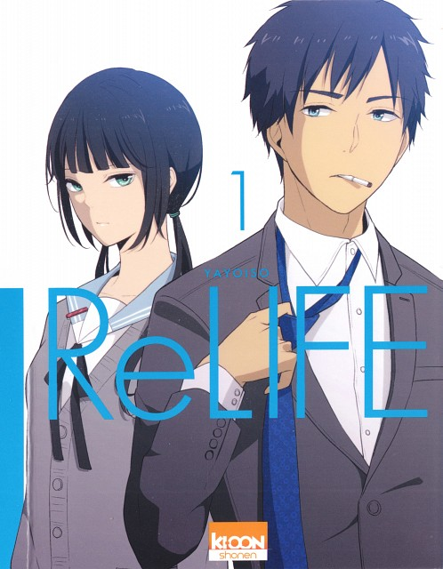 TMS Entertainment, ReLIFE, Arata Kaizaki, Chizuru Hishiro, Manga Cover