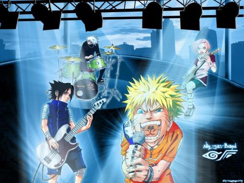 Masashi Kishimoto, Naruto, Naruto Uzumaki, Kakashi Hatake, Sasuke Uchiha Wallpaper
