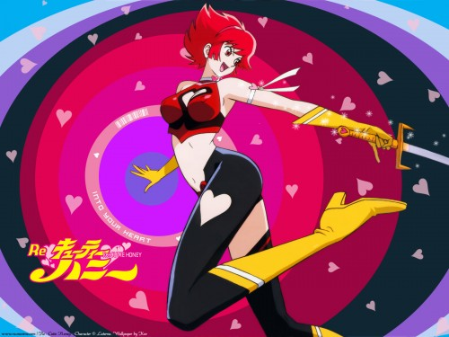 Go Nagai, Toei Animation, Cutey Honey, Cutey Honey (Character), Honey Kisaragi Wallpaper