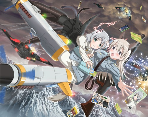 Gonzo, Anime International Company, Strike Witches, Eila Ilmatar Juutilainen, Sanya V. Litvyak
