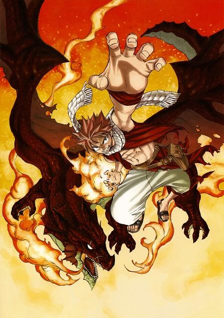 Hiro Mashima, Fairy Tail, Fairy Tail Illustrations: Fantasia, Igneel, Natsu Dragneel