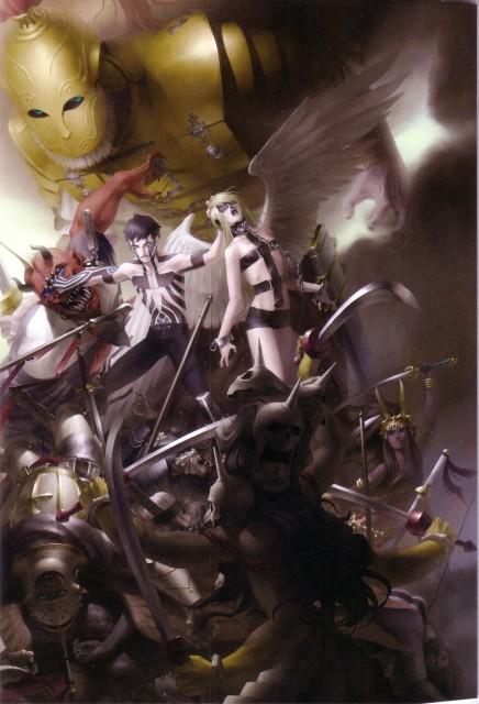 Kazuma Kaneko, Kaneko Works, Shin Megami Tensei, Hitoshura, Yaksini