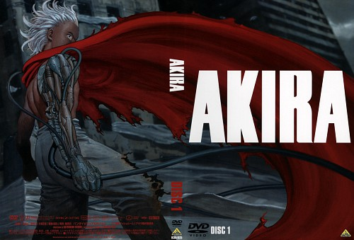 Katsuhiro Otomo, Akira, Tetsuo Shima, DVD Cover
