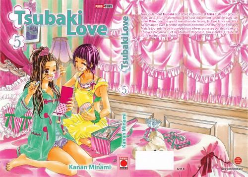 Kanan Minami, Kyou Koi wo Hajimemasu, Tsubaki Hibino, Miho Ichikura, Manga Cover