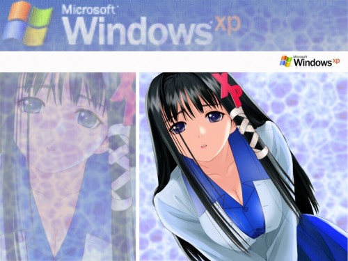 OS-tan, Windows XP-tan Wallpaper