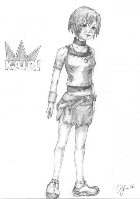 Square Enix, Kingdom Hearts, Kairi, Member Art