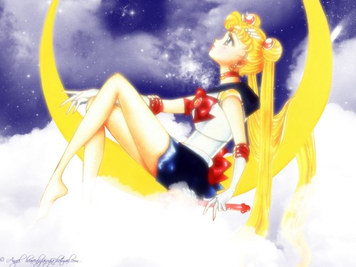 Naoko Takeuchi, Bishoujo Senshi Sailor Moon, BSSM Original Picture Collection Vol. II, Sailor Moon Wallpaper