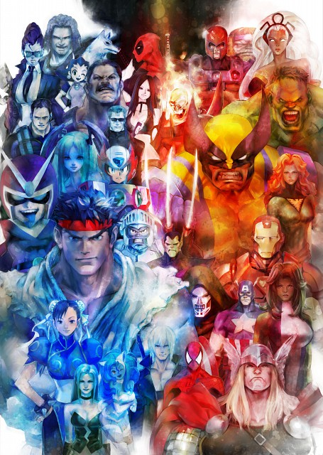 Capcom, Marvel, Madhouse, Marvel vs Capcom 3, Dark Stalkers